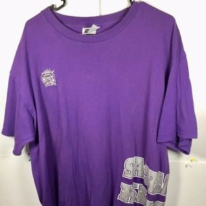Vintage Sacramento Kings CSA  Big Logo Men Sz XL